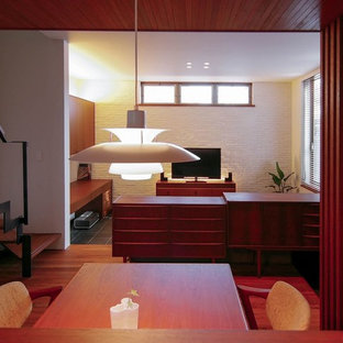 Example of a danish dining room design in Tokyo