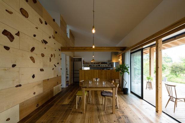和室・和風 ダイニング by ツクリト建築設計事務所