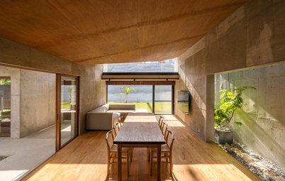 コンクリートでありながら、沖縄の伝統的住宅のよさが盛り込まれた家