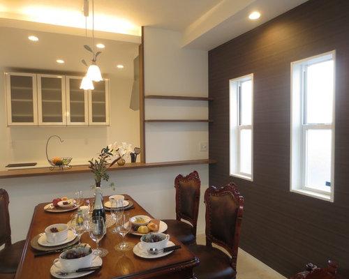 sala da pranzo aperta verso il soggiorno con pavimento in ... - Arredare Soggiorno Con Sala Da Pranzo 2