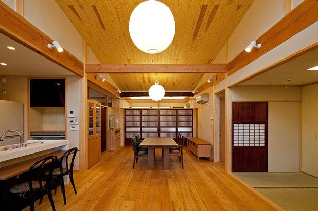 和室・和風 ダイニング by 小町建築設計事務所