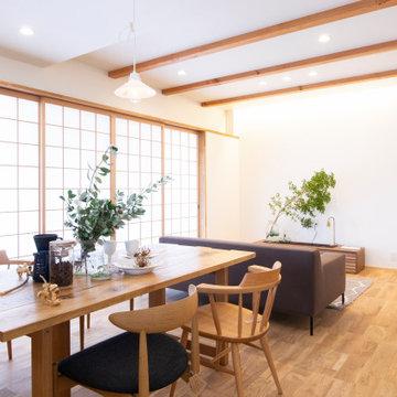 誰もが心地よいと思える、素材感を大切にした心地よく暮らすことのできる家