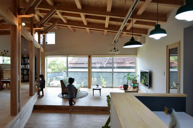 インダストリアル ダイニング by 工作室 齊藤彰一級建築士事務所