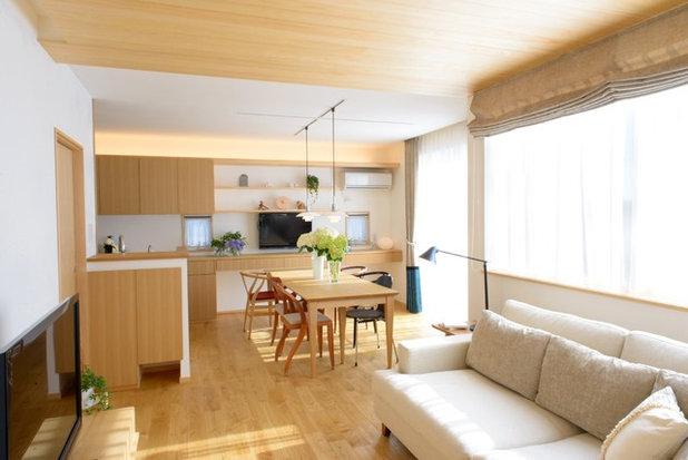 北欧 ダイニング by Interior & Lifestyle Design RH+ (アールエイチプラス)