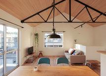 素敵な空間ですね。天井材は何を使用されていますか?