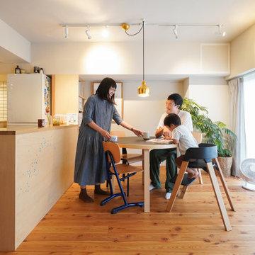 A邸(設計:相羽建設|東京都杉並区)