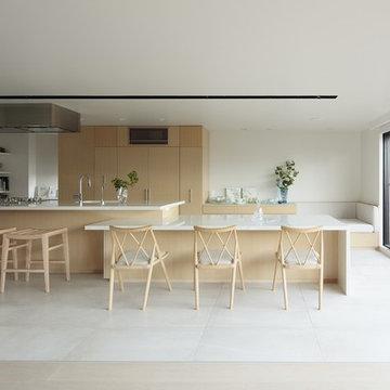 Apartment Renovation in Azabu Nagasaka 麻布永坂のマンション改修