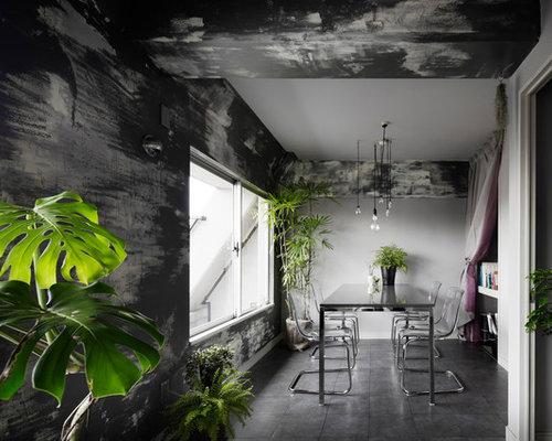 Matplats matplats grå : Foton och inspiration för rustika matplatser med öppen planlösning ...