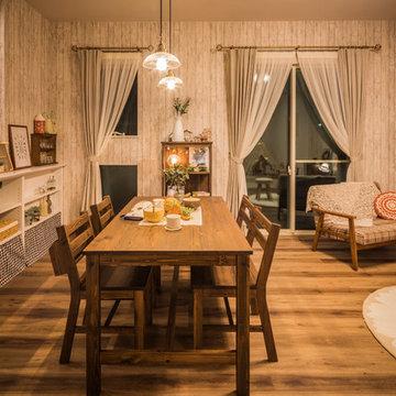 Cafe style カフェスタイルの家