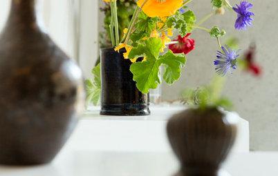 日々の花の楽しみ方:春の花は「やんちゃ」にいけてみよう