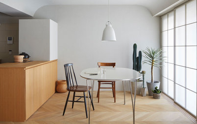 Houzz Tour: A Tokyo Apartment Plays With Light and Shadow