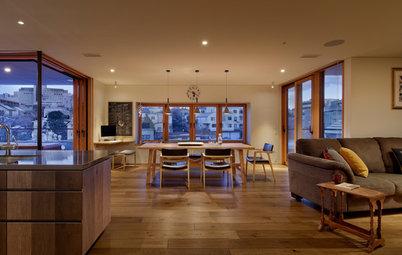 築40年超の木造家屋を大規模改修。リビングとテラスが一体化した眺めのいい家