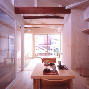Inspiration for a contemporary dining room in Tokyo.