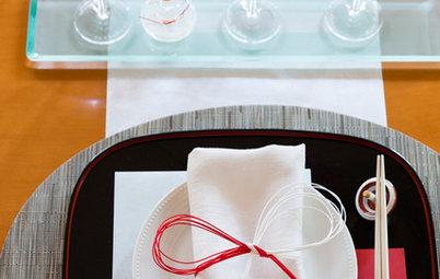 手持ちの器と身近な小道具でしつらえる、お正月のテーブル
