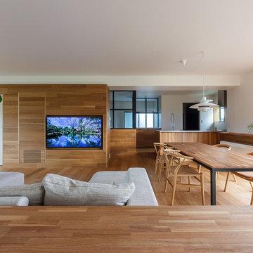 re.haus-tn / 二世帯住宅の一世帯分をフルリノベーション