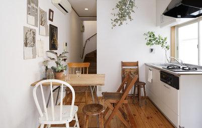 16 kvadratsmarta idéer för matplatser i små kök
