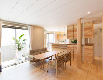 Wood & Technologyでつくる「シェアルームのある家」