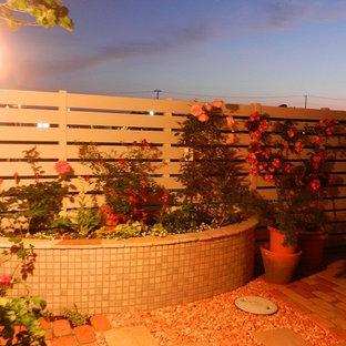 Esempio di un patio o portico scandinavo