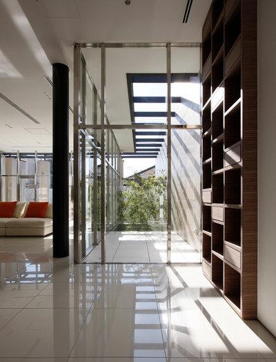 モダン テラス・中庭 by 有限会社 オープンハウス