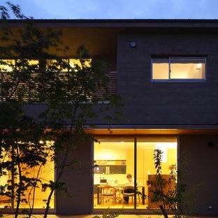 Idee per un patio o portico etnico in cortile