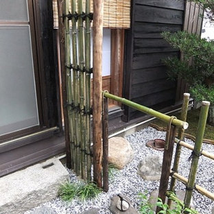 Design ideas for an asian patio in Kyoto.