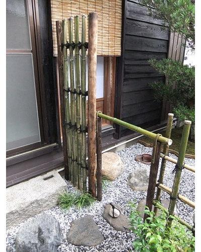 Japonés Patio by 岩崎建築研究室