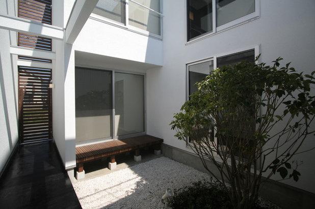 モダン テラス・中庭 by 天工舎一級建築士事務所