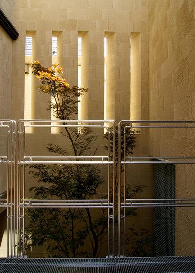 テラス・中庭 by 廣部剛司建築研究所/Takeshi Hirobe Architects