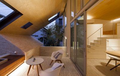 半屋外空間でおおらかに過ごす、大屋根が繋ぐSOHO