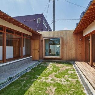 名古屋のトラディショナルスタイルのおしゃれなテラス・中庭の写真