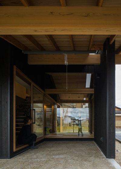 和室・和風 テラス・中庭 by ALTS DESIGN OFFICE (アルツ デザイン オフィス)