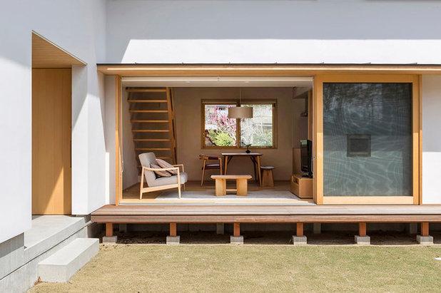 和室・和風 テラス・中庭 by 有限会社 ナック建築事務所