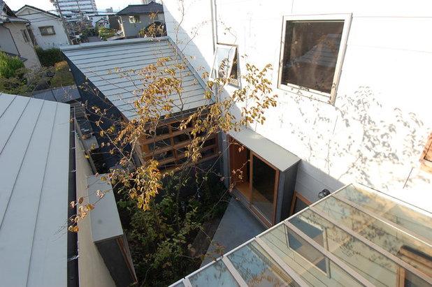 コンテンポラリー テラス・中庭 by 間工作舎/一級建築士事務所