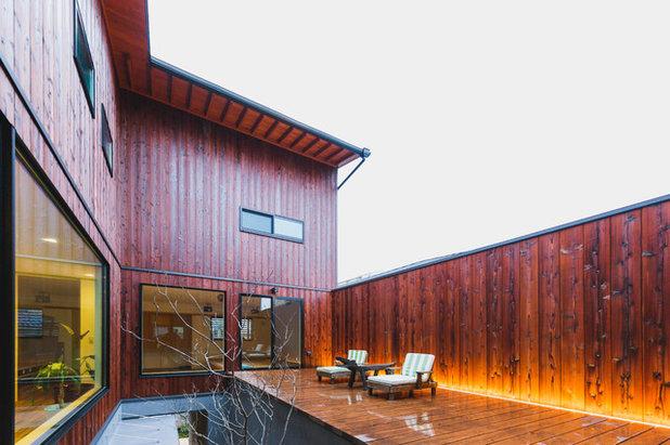 モダン テラス・中庭 by HOUSE ZEN 一級建築士事務所