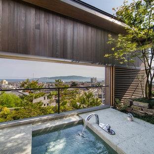 他の地域のアジアンスタイルのおしゃれなテラス・中庭の写真