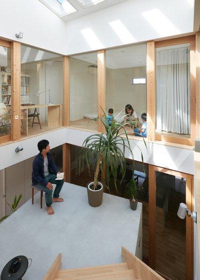 モダン テラス・中庭 by 藤原・室 建築設計事務所