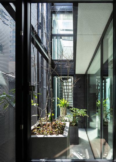 モダン テラス・中庭 by Abax Architects/アバクス・アーキテクツ
