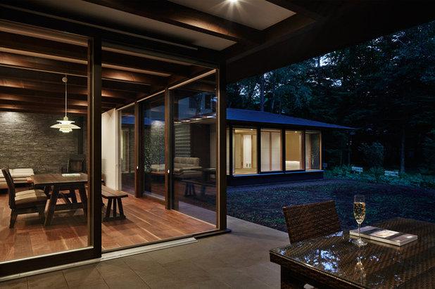 モダン テラス・中庭 by アトリエ137 | atelier137 Architectural Design Office
