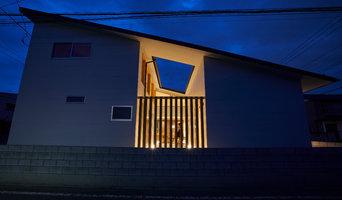 HOUSE / O #1 ファサード / 外観 / 夜景