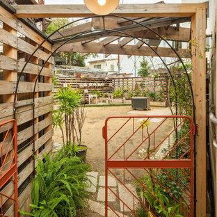 大阪のカントリー風 テラス・中庭の画像