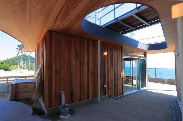 モダン テラス・中庭 by Y.Architectural Design