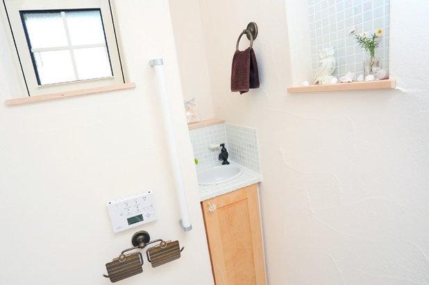 カントリー トイレ・洗面所 やさしい気持ちになれる家