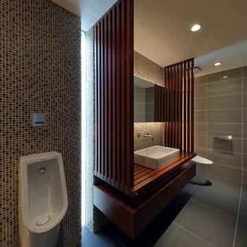 アジアン トイレ・洗面所