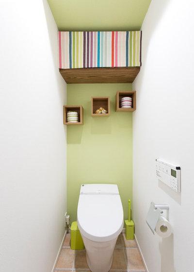 Contemporain Toilettes by 株式会社スタイル工房  stylekoubou