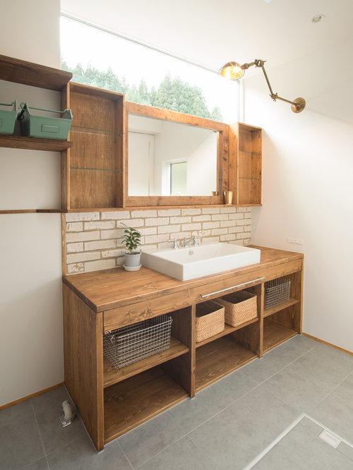 Farmhouse Powder Room Design Ideas Remodels Amp Photos