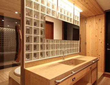 コンテンポラリー トイレ・洗面所