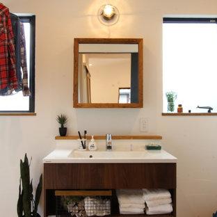 セミオーダースタイルの洗面スペース