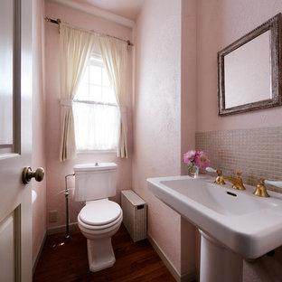 Powder room - victorian powder room idea in Other