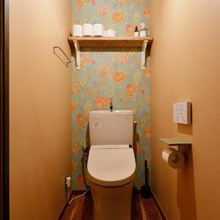 Пример оригинального дизайна: туалет в стиле лофт
