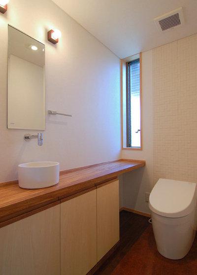 和室・和風 トイレ・洗面所 by 今村建築一級建築士事務所